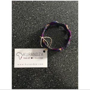 Jewelry - Purple Kurandza Bracelet